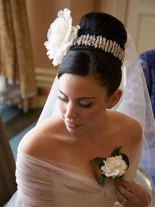 Ballerina chignon Wedding Hairstyles