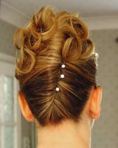French twist Wedding Hairstyles