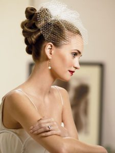 Retro Chic Wedding Hairstyles