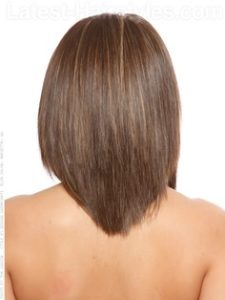 U shaped Medium Length Hairstyles