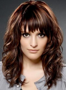 layers and with bangs Medium Length Hairstyles