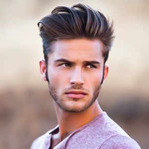 Mens Summer Hairstyles Up, Up and Away