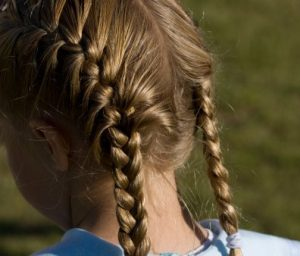 kids summer hairstyles French braid