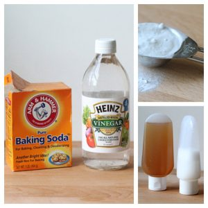 clarifying treatments baking soda and vinegar