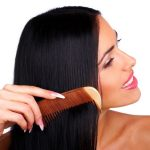 grow hair faster by using a brush
