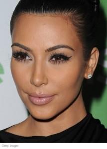 kimkardashian-cateyesmakeup