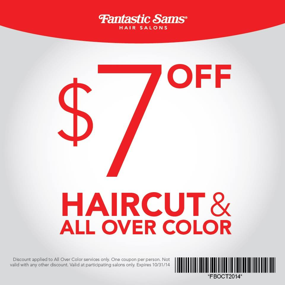 haircut coupons mn cost of a haircut at fantastic sams haircuts models ideas 3864