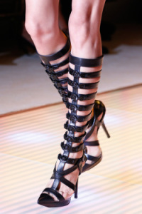 Fashion Shoes for 2015 Be Chic and Trendy versace gladiators