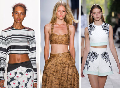 What to Wear in Spring 2015 Midriff Baring Designs
