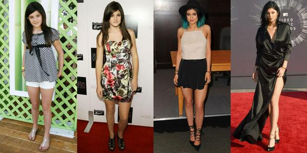 Kylie Jenner Transformation Throughout the Years