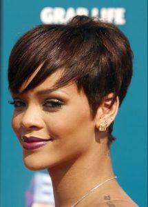 Rihanna's Cropped Hairdo