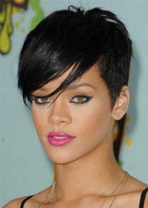 Rihanna-asymmetric-hairstyle