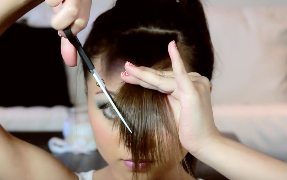 How To Get Side Swept Bangs
