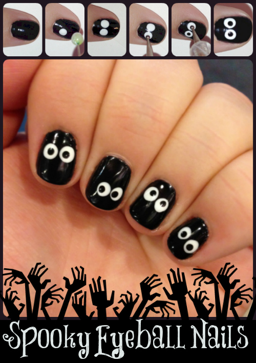 5 Easy Halloween Nail Designs