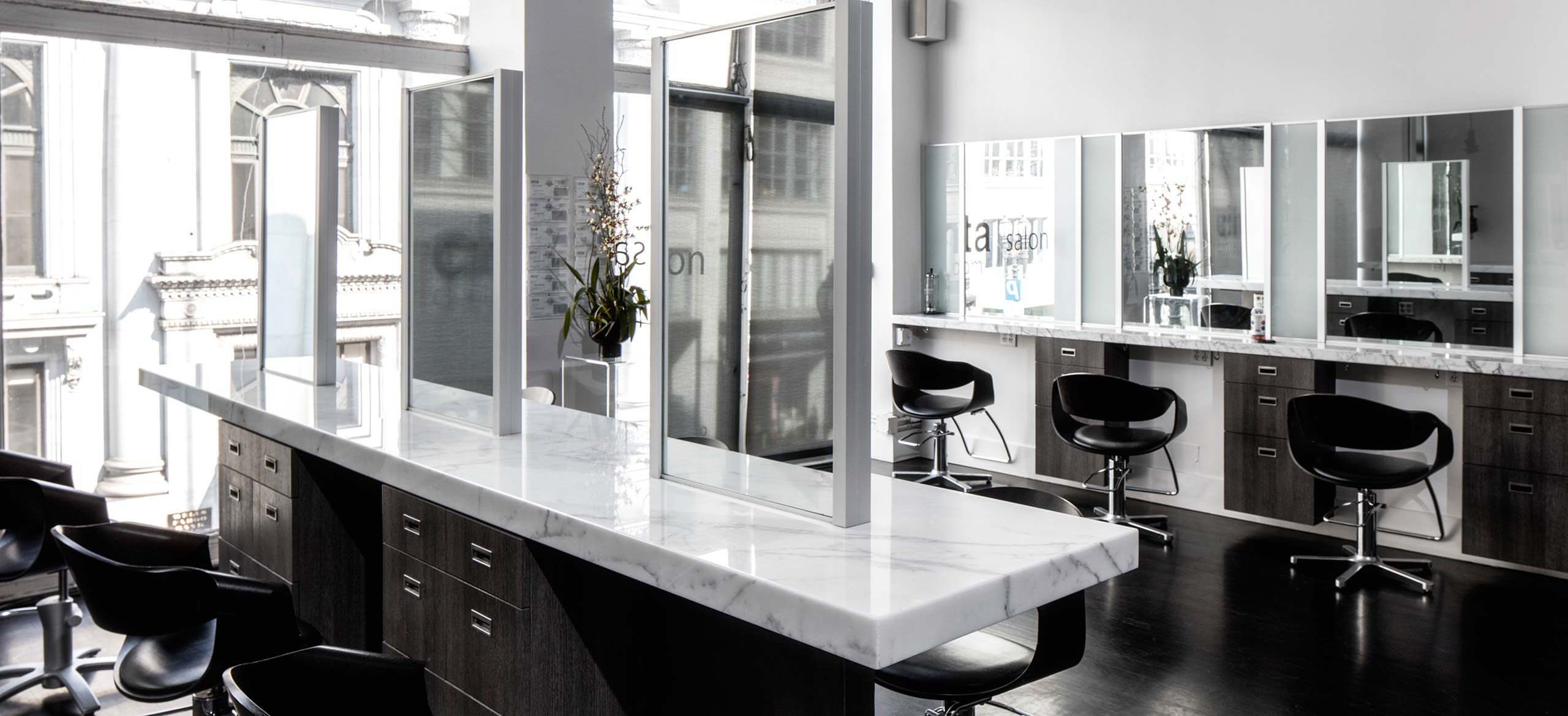 Best hair salons in major us cities for Modern salon stations