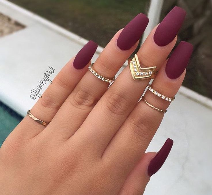 Join The Matte Nails Trend
