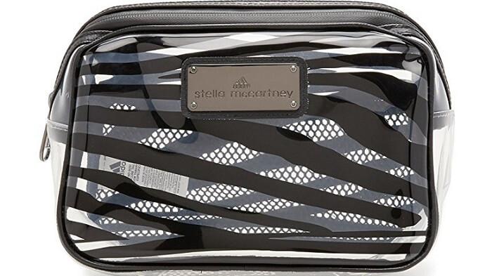 an Adidas sporty cosmetic bag