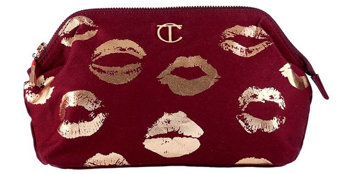 a small and classy makeup bag