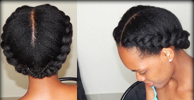 a thick dutch braid hairstyle