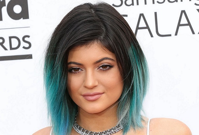 Kylie Jenner at an award-winning event