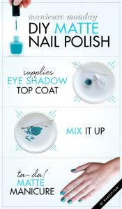 easy nail art designs matte