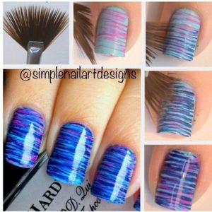 stripes for easy nail art designs