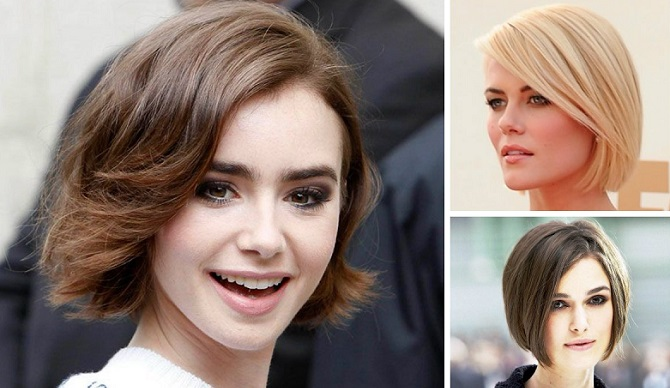three traditional bob haircuts