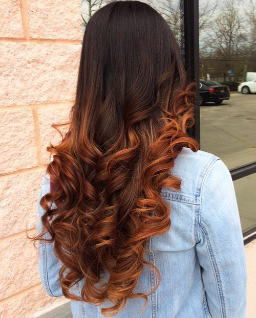 Zesty Hair Color Ideas for Brunettes