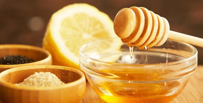 a bowl of honey
