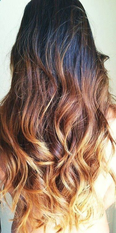 36 Hair Color Ideas That Are Totally Trending On Pinterest - brown to blonde ombre