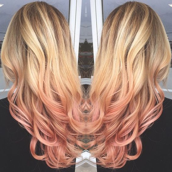36 Hair Color Ideas That Are Totally Trending On Pinterest - rose gold colored hair