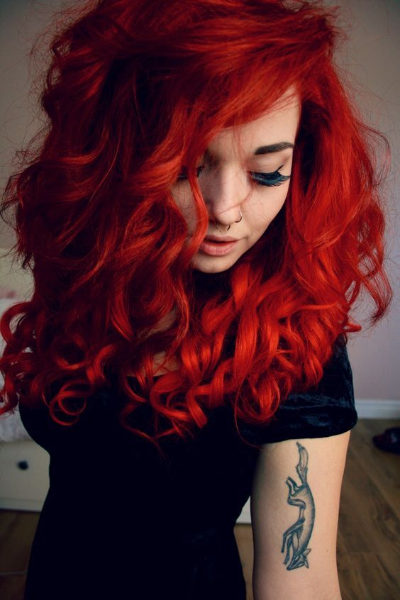 36 Hair Color Ideas That Are Totally Trending On Pinterest - cherry bright redhead colored hair
