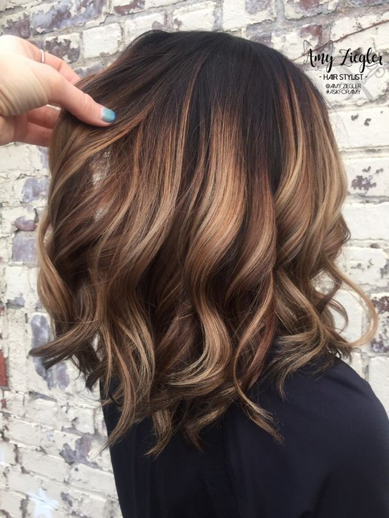 36 Hair Color Ideas That Are Totally Trending On Pinterest - brown balayage