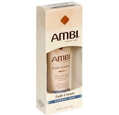 the Ambi skincare fade cream advanced formula