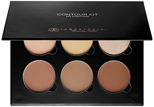 an Anastasia Beverly Hills light and medium contour kit with six shades