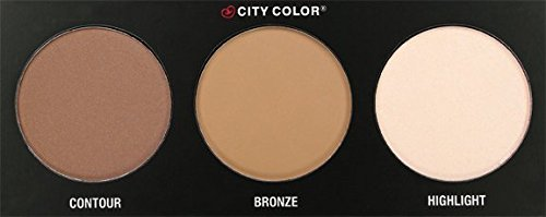 a small City Color contour palette