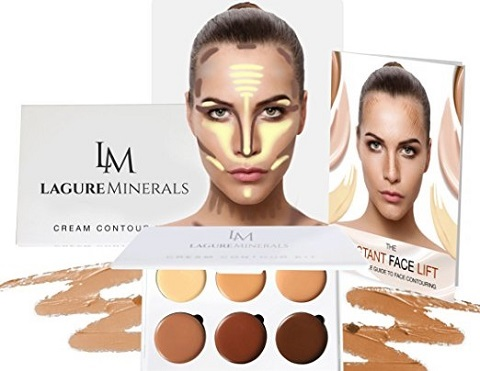 the Lagure Minerals Cream contour kit