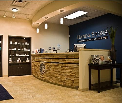 hand and stone salon for massage facial spa