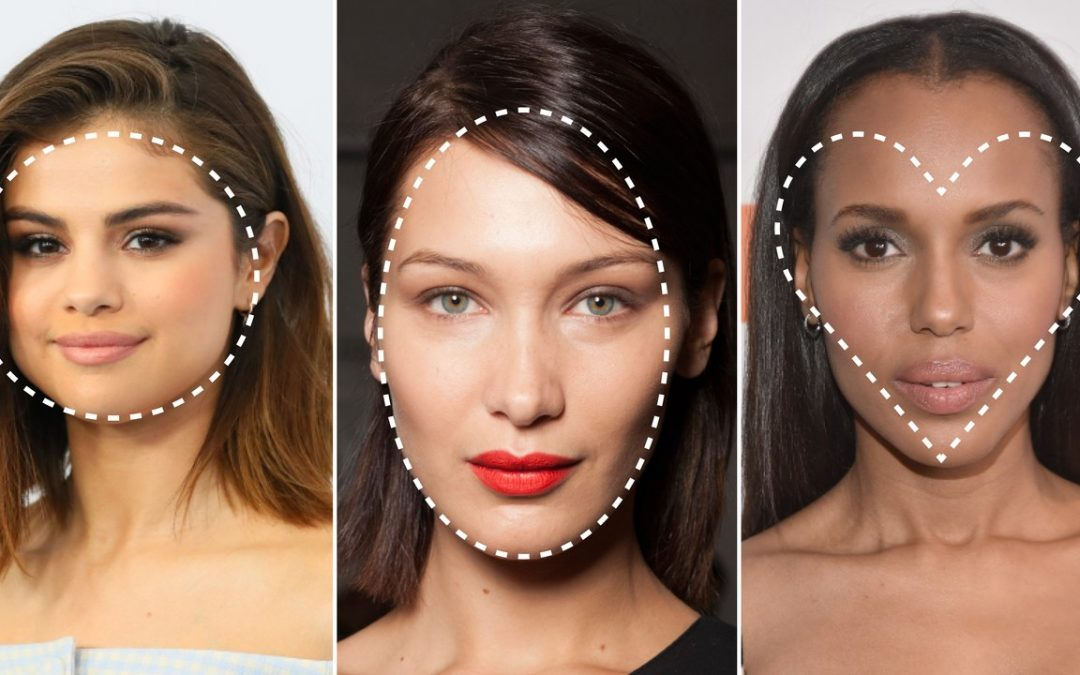 Ultimate Guide For Different Face Shapes: Makeup, Styles And Other Looks