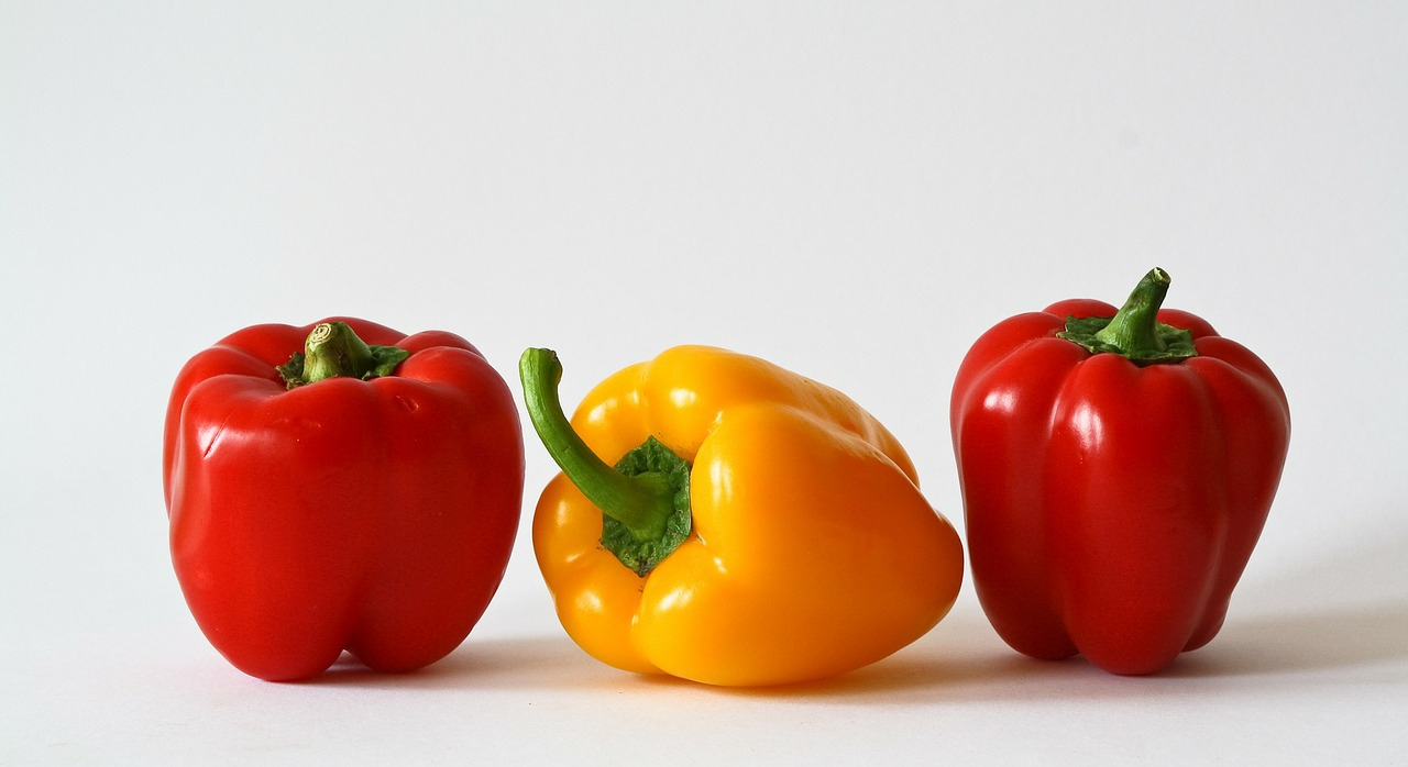 Red and Yellow Peppers